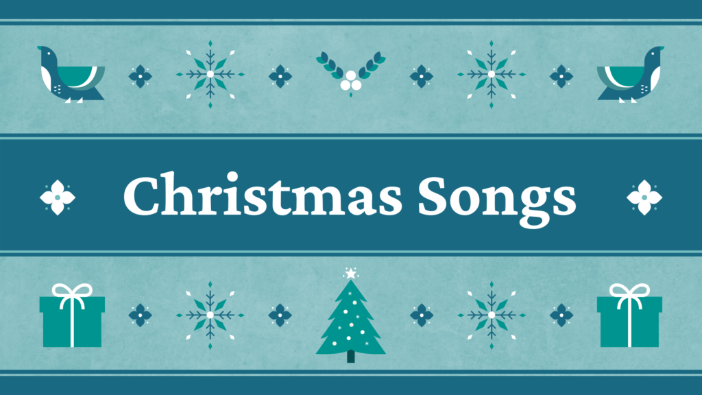CHRISTMAS VIDEO SONGS