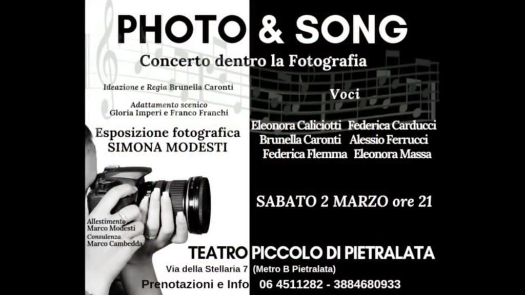 """""""Photo&Song"""" promo"""